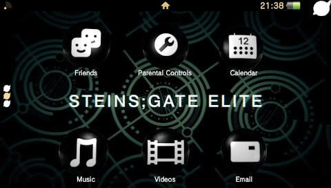 Steins; Gate Elite PSV 主题 缩略图
